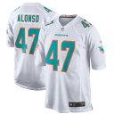 ショッピングゲーム ナイキ メンズ ユニフォーム トップス Kiko Alonso Miami Dolphins Nike New 2018 Game Jersey Aqua