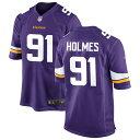 ショッピングサイズ ナイキ メンズ シャツ トップス Minnesota Vikings Nike Custom Game Jersey Purple