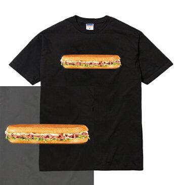 SANDWICH teeシャツ/三色展開 半袖 メンズ レディース ブランド big ビッグ ソース チーズ ストリート ホットドッグ ソーセージ アメリカン 食べ物 ジャンクフード サンドウィッチ サンドイッチ ハンバーガー デザイン グラフィック tee tシャツ