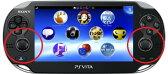 PS Vita (PCH-1000)  アナログパッド(ジョイスティック)の故障修理【アナログスティック・レバー・本体修理】
