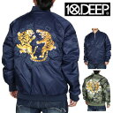 10DEEP 10ディープ ジャケット TIGER CLAW JACKET 63TD0605
