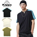 ショッピングkappa KAPPA BANDA カッパ バンダ T-SHIRT K0812TD78 メンズ レディース 春物 Tシャツ ブラック ホワイト カーキ M L XL