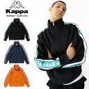 ショッピングkappa KAPPA BANDA カッパ バンダ KNIT JACKET K0812WK09 メンズ レディース 春物 ジャージ トラックジャケット セットアップ ブラック ネイビー オレンジ M L XL