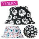 ミシカ MISHKA バケットハット 帽子 メンズ レディース 大きいサイズ ブランド BUCKET HAT MSS203226 ブラック ホワイト FREE