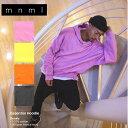 【お買い物マラソン クーポン配布中】mnml パーカー ドロップショルダー ビッグシルエット メンズ レディース ミニマル ESSENTIAL HOODIE 18ML-SP137H 大きいサイズ 日本限定色 M L XL