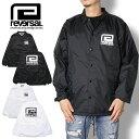 REVERSAL リバーサル BIG MARK COACH JACKET rvbs011 コーチジャケット メンズ レディース ストリート系 ファッション ブラック ホワイ..