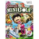 Wii CARNIVAL GAMES MINI GOLF【北米版】カーニバルゲームス ミニゴルフ