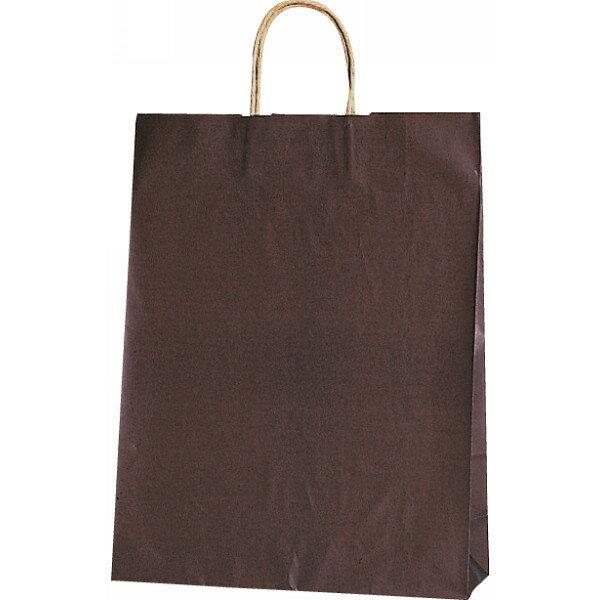 【E】紙袋 カラー無地 (XS)[焦茶] #32...の商品画像