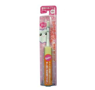 最小用電動牙刷 babyhappica 黃 BRT 7 B / 軟,寶貝 (兒童牙刷) (4961691104254)
