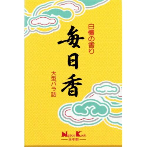 【まとめ買い×5】日本香堂 毎日香 大型バラ詰 240g×5点セット(仏具用品 線香)(4902125108035)