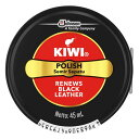 ジョンソン キィウイ KIWI 油性靴クリーム缶入 ブラック...