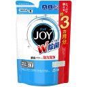 【送料無料・まとめ買い×3】P&G ハイウォッシュジョイ W除菌 食洗機専用洗剤 つめかえ用 490g ×3点セット( JOY 食洗器洗剤 詰め替え)( 4902430708487 )