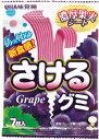 【10個セット】UHA味覚糖 さけるグミ 濃厚なグレープ味 7枚×10点セット ( お菓子・食品・グミ ) ( 4902750642461 )