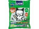 【送料無料 まとめ買い×3】ライオン商事 お茶でニオイをとる砂 7L ( ペット用品 猫砂 ) ×3点セット ( 4903351061002 )
