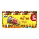 【10点セットで送料無料】【FDK】【FUJITSU】FUJITSU LongLifeー単1・4個 LR20FL ( 4S ) 【516G】×10点セット ★まとめ買い特価! ( 4976680276003 )