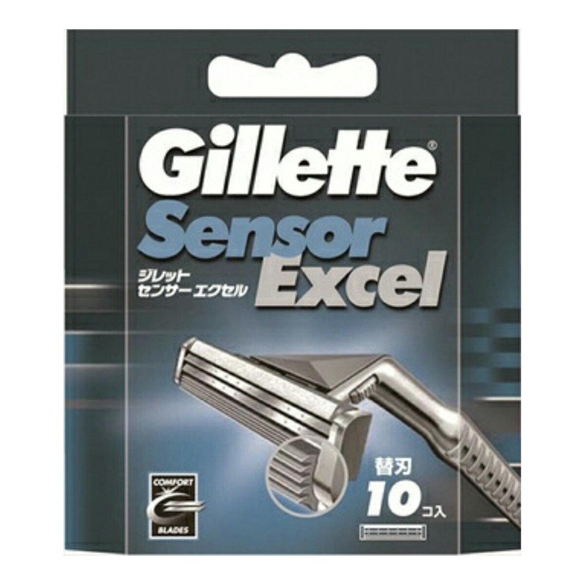 【送料無料・まとめ買い×5】P&G ジレット センサーエクセル専用替刃10個入 ×5点セット ( 4902430635035 )