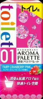地球醫學除臭芳香調色板的廁所童話小紅莓粉紅的香水 400 毫升 x 12 件套 (4901080638618)