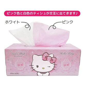 林公司的濕日本 Hello Kitty 220w 20 點集 (保濕 Hello Kitty,紙巾) x (4977033210774)