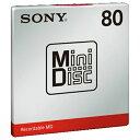 【まとめ買い×5】SONY ミニディスク (80分 1枚パック) MDW80T×5点セット(4548736017160)