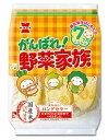【6点セット】岩塚製菓 がんばれ!野菜家族 55g×6個セット ( お菓子 おやつ 離乳食 ) ( 4901037703901 )