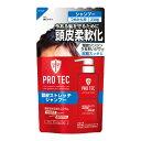 【送料無料 まとめ買い×3】ライオン PRO TEC ( プロテク ) 頭皮ストレッチ シャンプー つめかえ用 230g ×3点セット ( 4903301231189 )