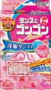大日本除虫菊 ゴンゴン アロマ 洋服ダンス用 リッチフローラルの香り 4個入 ( 4987115842182 ) ( 防虫剤・虫除け・保存 )