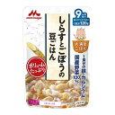 【直送・代引不可・同梱不可】森永乳業 大満足ごはん しらすとごぼうの豆ごはん(120g)