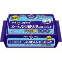 【介護用品特売】日本製紙クレシア アクティ トイレに流せるおしりふき 100枚入 無