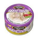 【直送・代引不可・同梱不可】ペットライン ごちそうタイム ささみ&鶏なんこつ(80g)