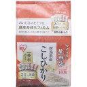 【直送・代引不可・同梱不可】アイリスオーヤマ 生鮮米 新潟県産こしひかり(2合パック*5袋入)