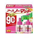 アース製薬 アースノーマット 取替えボトル90日用 微香性 バラの香り ( 内容量:90ml ) ( 4901080118714 )