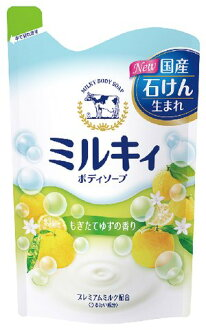 挑選新鮮柚子的牛奶香皂 bodysoap 筆芯 400 毫升 (4901525006347) * 每人最高 1 點只