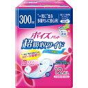 日本製紙クレシア ポイズパッド 超吸収ワイド 女性用 12枚入(尿ケア専用ナプキン)吸収量 300c