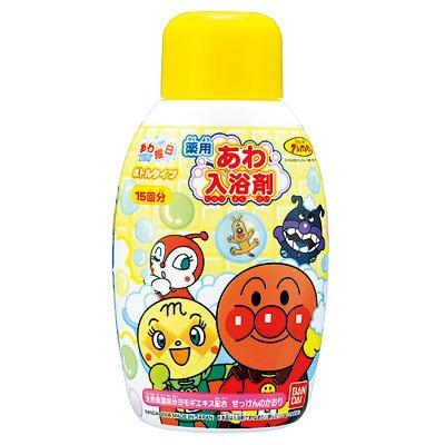 アンパンマン あわ入浴剤ボトルタイプ ( 入浴剤 バブルバス )