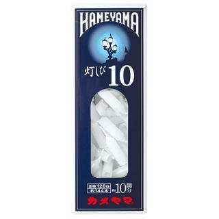 【10点セットで送料無料】カメヤマ ローソク 灯しび10 極小豆ダルマ  120g ( 約144本 ) 燃焼時間は約10分×10点セット ★まとめ買い特価! ( 4901435947525 )