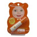 伊勢半 マミー 無添加リップクリーム 無香料 3.5g Mommy 赤ちゃんにも使える100%食品成分リップクリーム ( 4901433005180 )