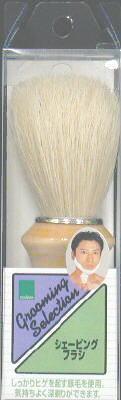 【シェービングブラシ】三宝商事 テンスター シェービングブラシ MBG−16 ( メンズビューティギア ) ( 髭剃り用ブラシ 豚毛ブラシ ) ( 4901646123138 )