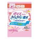 日本製紙クレシア ポイズライナー さらさら吸水 超微量用 スウィートフローラルの香り 48枚入 (4901750801212 )