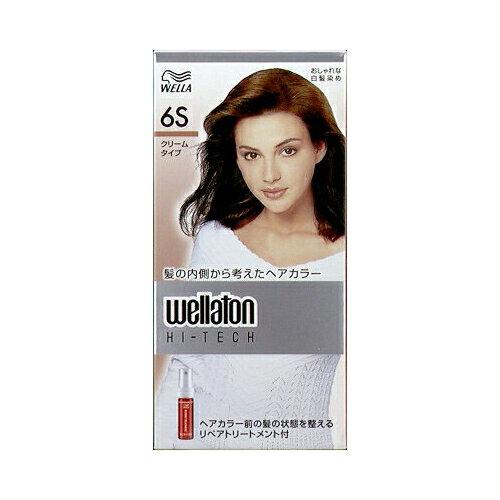 【ヘアケア特売】P&G ウエラトーン ハイテック クリーム 6S 透明感のある自然な栗色 医薬部外品 白髪染めヘアカラー ( 女性用 ) ( 4902565140572 )