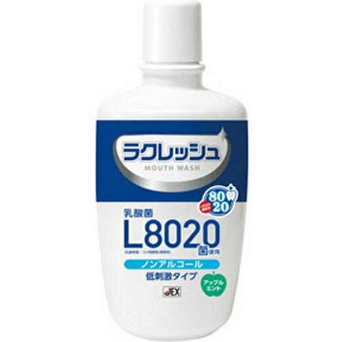 【5個で送料無料】ジェクス チュチュベビー ラクレッシュ 乳酸菌L8020菌使用 マウスウォッシュ アップルミント 300ml 本体×5点セット(4973210994529)