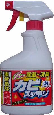 ロケット石鹸 カビスッキリ ハーブ スプレー 400ml ( 4903367302083 )