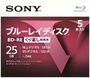 【GotoポイントUP】 ソニー ブルーレイディスク 録画用25GB BD-RE 5枚 RE2倍速1層 Vシリーズ 5BNE1VLPS2 繰り返し録画用 ( 45487360370..