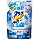 【送料無料・まとめ買い×3】花王 アタック抗菌EX スーパークリアジェル つめかえ770g