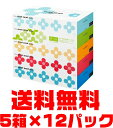 【ケース販売・送料無料】 ネピネピメイト ティシュ ボックス 300枚 ( 150組 ) ×5箱組×12点セット ( 計60箱 ) ( ティッシュペーパー 箱 ) (4901121179032 ) ※スーパーセール特価!お一人様1セット限り