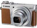 PowerShot G9 X [シルバー] CANON デジタルカメラ