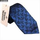 ショッピングヴィヴィアンウエストウッド 【あす楽】Vivienne Westwood ヴィヴィアン・ウェストウッド ネクタイ 8.5cm オーヴ柄 10037-CS-K219 NAVY BLUE