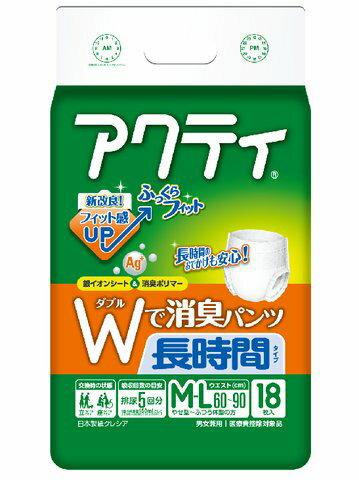 日本製紙クレシア アクティ Wで消臭パンツ 長時...の商品画像