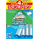 【 送料無料 】 スクラビングバブル トイレスタンプ フレッシュソープの香り つけかえ用 4本入り ジャンボパック 152g (4901609008557)
