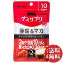 【メール便送料無料】UHA味覚糖 グミサプリ 亜鉛 マカ コーラ味 10日分 20粒 1個