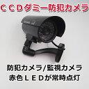 ダミーカメラ CCDダミー防犯カメラ/ダミー監視カメラ/赤色LED /ダミーカメラ 偽装カメラ E1...